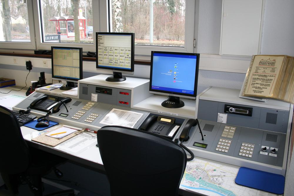 Gerätehaus der Feuerwehr Hochheim, Funkraum