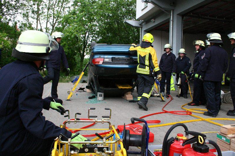 Ausbildung für Verkehrsunfall