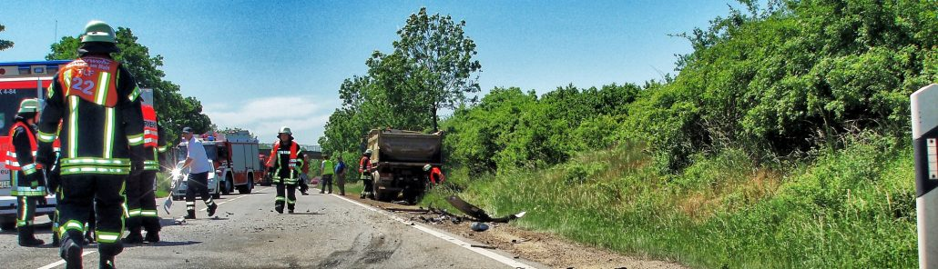 Verkehrsunfall in Hochheim