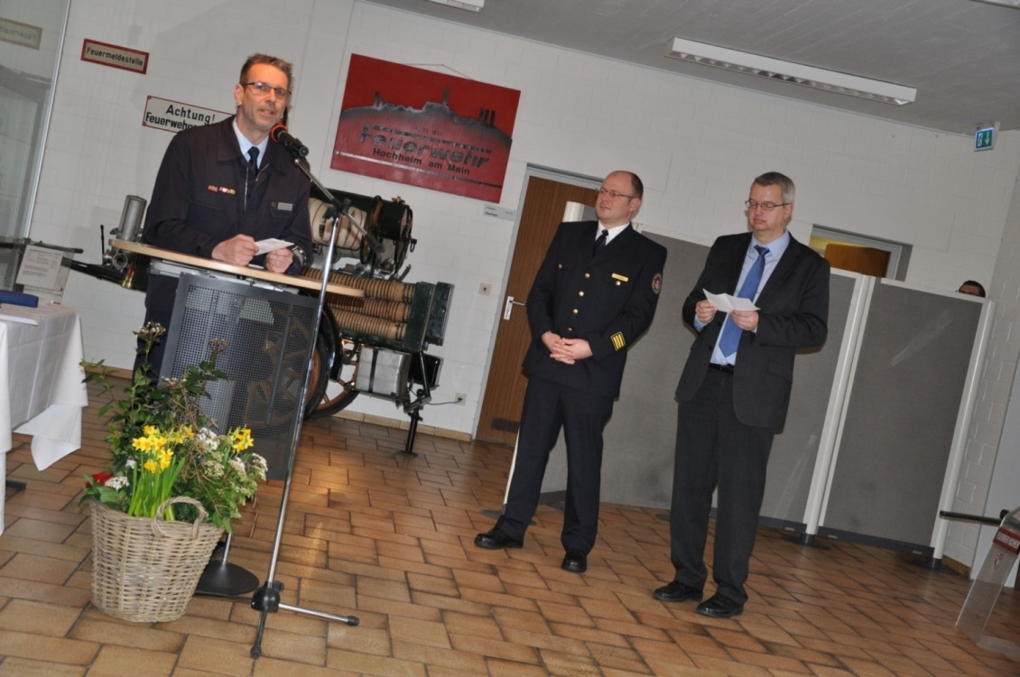Feuerwehr Ehrung SBI KBI Bürgermeister