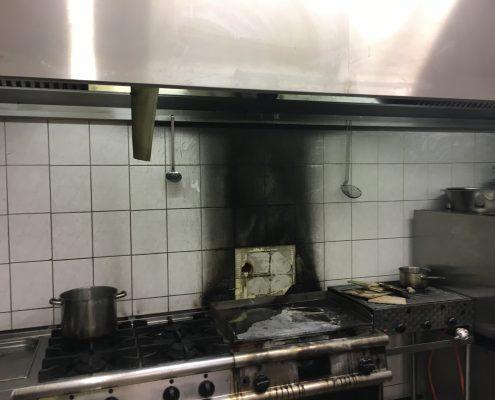 Jahnstraße Turnhalle Küchenbrand
