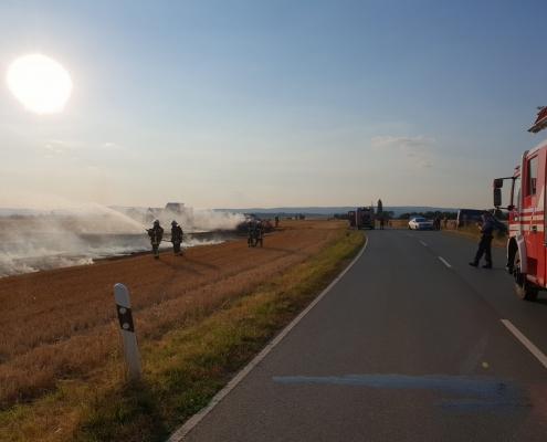 2018-07-23 PKW -Flächenbrand