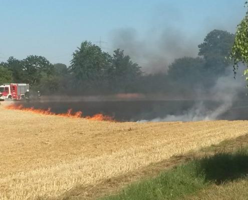 Flächenbrand Massenheim